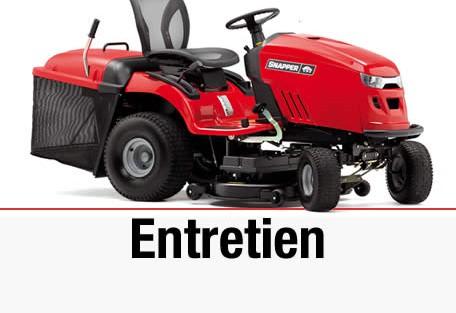 Entretien tracteur tondeuse toutes marques
