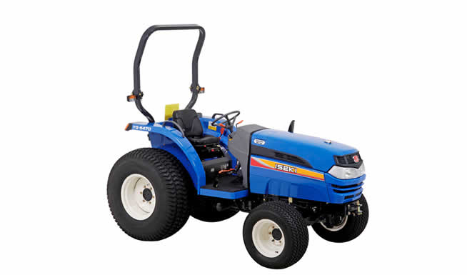 Tracteur horticole de la marque ISEKI